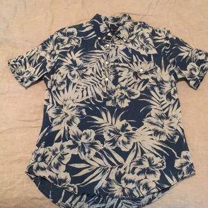 Ralph Lauren Short Sleeve Four Button Shirt